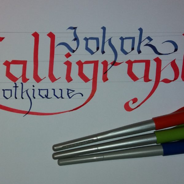 """J'ai découverts """"La Calligraphie"""""""