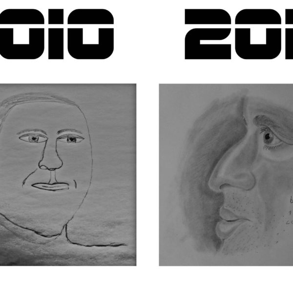 Mon évolution dans le dessin de 2010 à 2016