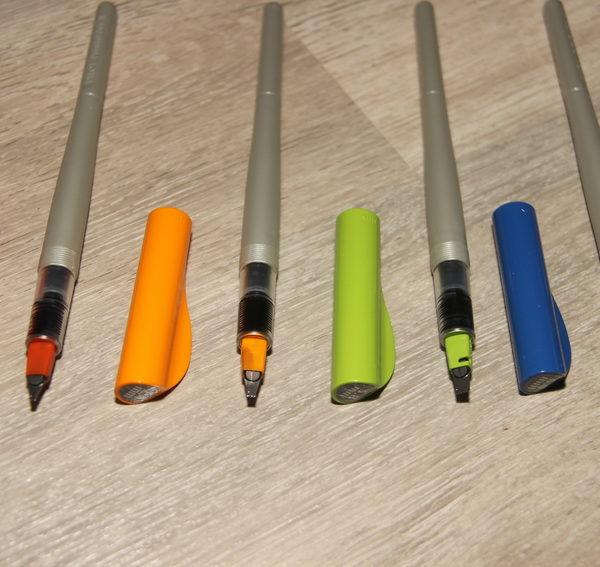 Mes outils pour la calligraphie