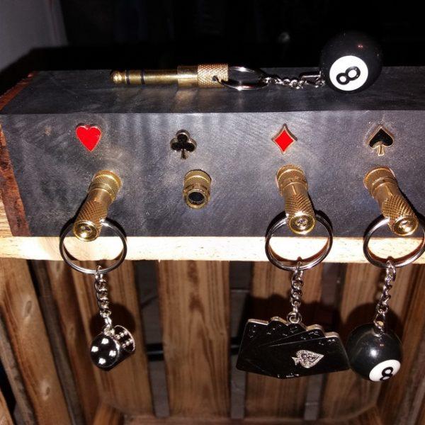 Porte clés mural sur le thème prises Jacks & Jeux