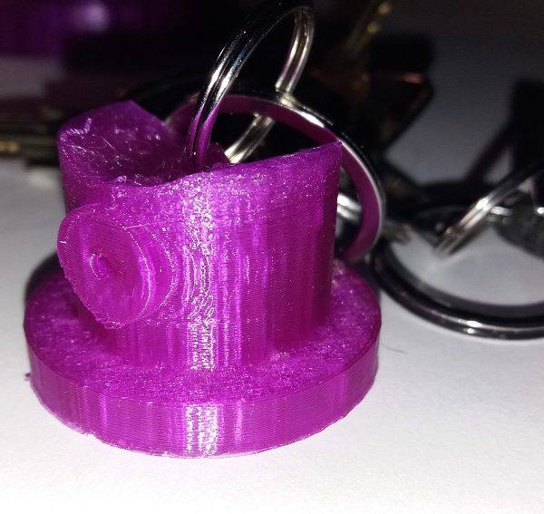 FatCap Porte-clés impression 3D
