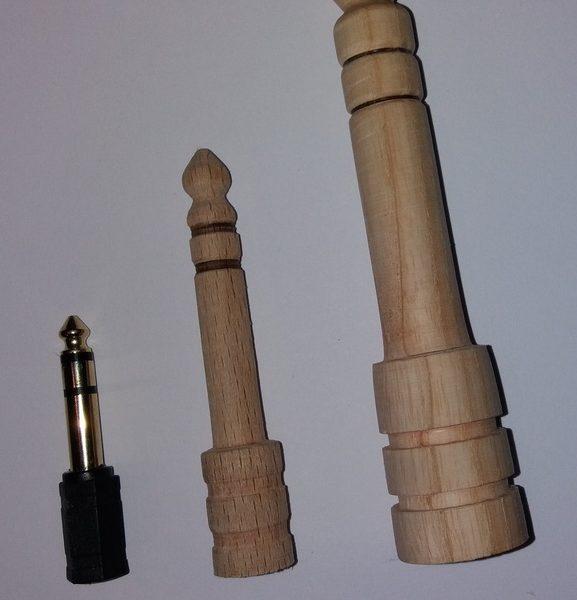 Prises Jacks en bois